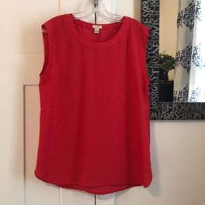 J. Crew Sleeveless Top Never Worn
